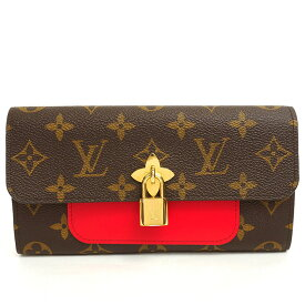 [Carefully selected products] [Used] [Good Condition] Louis Vuitton Portofeuille Flower Monogram M62566 [Long Purse]