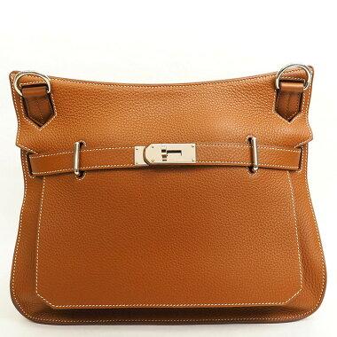 [Almost new] Hermes 31 diagonally hanging gypsiere [shoulder bag] [used]