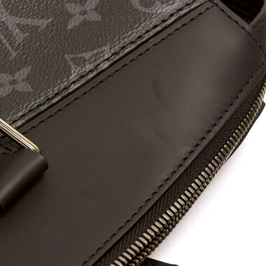 [Almost New] Louis Vuitton Tote Explorer Monogram Eclipse M 40567 [Business Bag · Briefcase] [Pre]