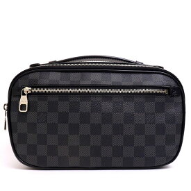 [Carefully selected products] [Used] [Good Condition] Louis Vuitton Amblair Damier Graphite N41289 [Body Bag / Waist Pouch]