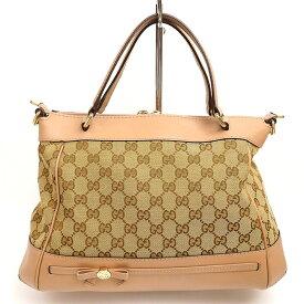 [GOODA publication] [Carefully selected products] [Used] [Good Condition] Gucci Mayfair GG Pattern 2WAY Shoulder Ribbon Motif GG Canvas 269894 486628 [Handbag]