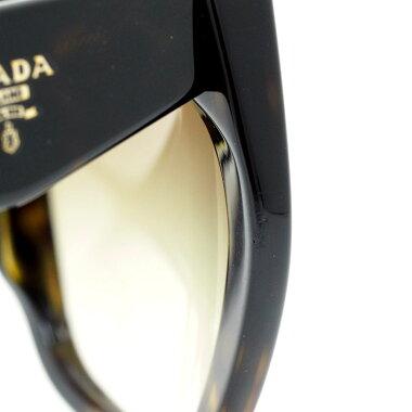 【中古】【美品】プラダハバナアイウェアべっ甲フレームSPR16RF2AU4M0レディースサングラス【小物・雑貨】【中古】