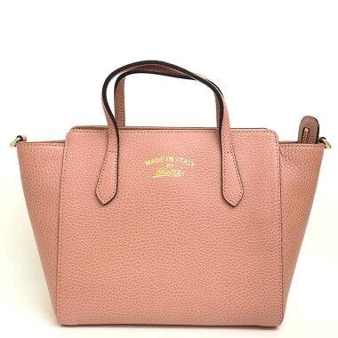 [Used] [almost new] Gucci Swing Mini 2WAY shoulder diagonal hanging 368827 · 213048 [handbag]