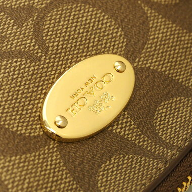 [Used] [Goods] Coach Mini Cola Dome Satchel 2WAY Shoulder Luxury Signature F34083 [Handbag]