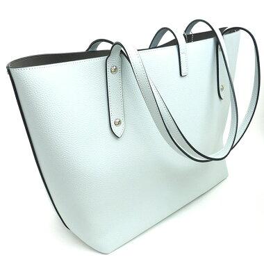 [Pre] [almost new] coach market tote shoulder silver bracket 58849 [shoulder bag]