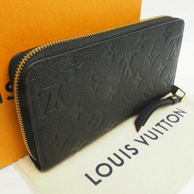 [Used] [Goods] Louis Vuitton Zippy Wallet Monogram Ann Plant M61864 [Long wallet]
