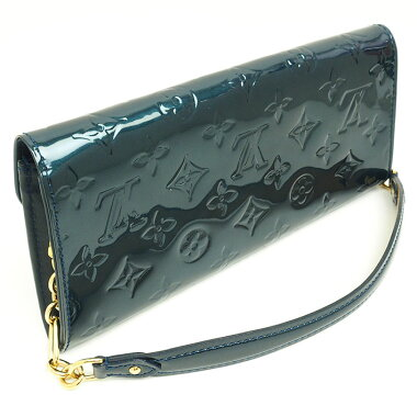 [Used] [Good Condition] Louis Vuitton Sunset Blue Bird Verni M93680 [Accessory Pouch]