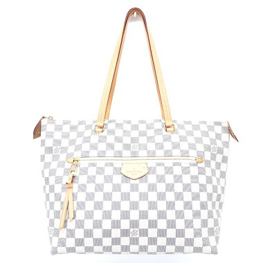 [Used] [Good Condition] Louis Vuitton Jena MM Damier Azur N44040 [Tote Bag]