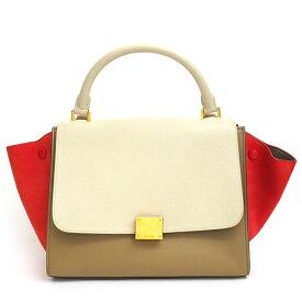 [Used] [Good Condition] Celine Small Tricolor 2WAY Shoulder Bag Multicolor Trapeze 174683 [Handbag]