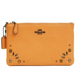 [Used] [Unused / New Used] Coach Small Wristlet with Prairie Rivet 29574 B1892 [Accessory Pouch]