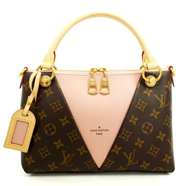 [Pre] [almost new] Louis Vuitton V tote BB monogram M43967 [handbag]