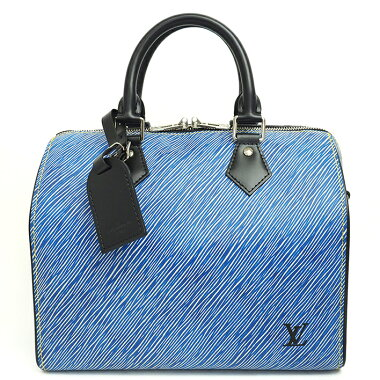 [Used] [Almost new] Louis Vuitton Speedy Bandolier 25 Epi Denim M51280 [Boston Bag]