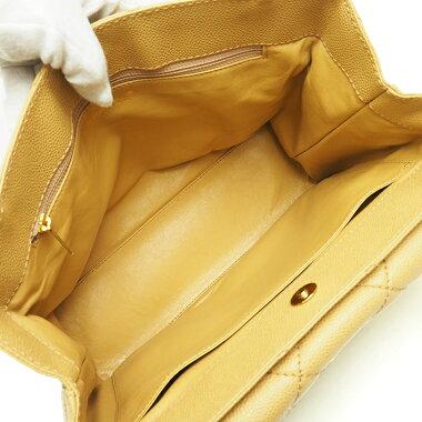 [Used] [Good Condition] Chanel CC Matrasse Stitch Chain Tote Flap Pocket Gold Hardware Wild Stitch [Shoulder Bag]