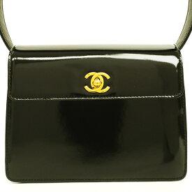 [GOODA] [Used] [Good Condition] Chanel CC Trapezoid Flap Bag Gold Hardware Coco Mark [Handbag]