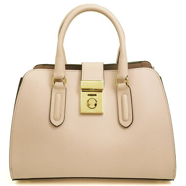 [Used] [Almost new] Furla 2WAY shoulder bag tote bag S gold metal fittings Milan [handbag]