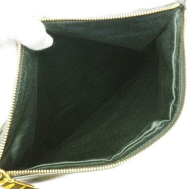 【中古】【美品】ミュウミュウ2WAYショルダーバッグゴールド金具マテラッセRP0385【クラッチバッグ】