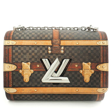 [Used] [Unused/new used goods] Louis Vuitton Twist MM Nicolas Gesquiere Design Transformed Damier M52270 [Shoulder Bag]