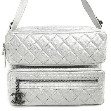 [Used] [Beautiful goods] Chanel camera bag chain shoulder shoulder coco charm antique metal fittings Coco mark [shoulder bag]
