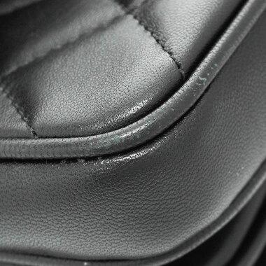 [Used] [Good Condition] Chanel Coco Handle 2WAY Flap Bag Chain Shoulder Gold Hardware 2018SS Coco Mark A57044 [Handbag]