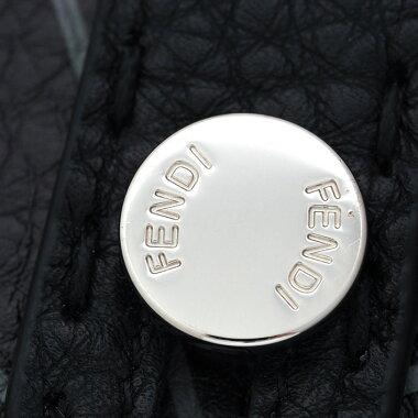 【中古】【ほぼ新品】フェンディセカンドバッググレーローマン7VA350A4BH【クラッチバッグ】