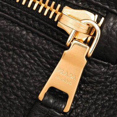 [Pre-owned] [Beautiful] Prada 2WAY shoulder bag diagonally hung gold metal fittings Vittero Dino BN2793 [Tote bag]