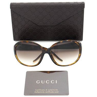 [Used] [almost new] Gucci interlocking heart tortoiseshell eyewear interlocking GGG3530 / F / S791JS Ladies Sunglasses [Accessories]