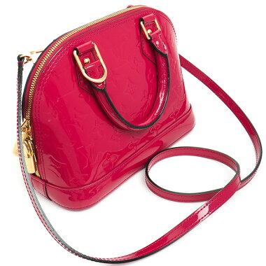[Used] [Beauty] Louis Vuitton Alma BB Verni M91771 [Handbag]