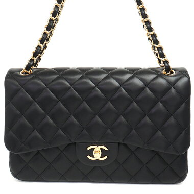 [Pre-owned] [Almost new] Chanel 30W chain W flap gold metal fittings Dekamatrasse Materasse A28600 [Shoulder bag]