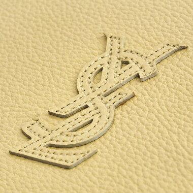 【中古】【美品】イヴサンローランYSLロゴフラップバッグ斜め掛け肩掛けゴールド金具ヴィンテージオールド【ショルダーバッグ】