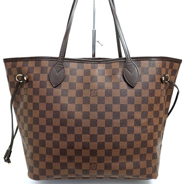 [Used] [Goods] Louis Vuitton Neverfull MM Old Damier N51 105 [Tote Bag]