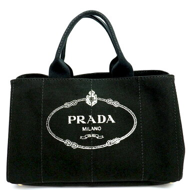 [Pre-owned] [Almost new] Prada handbag gold metal fittings Kanapa BN1872 [Tote bag]