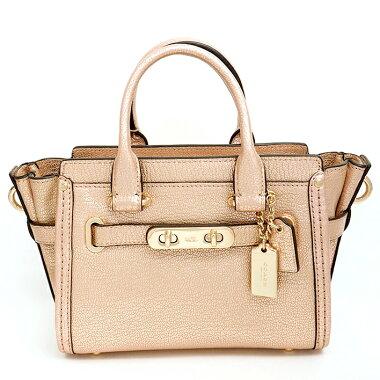 [Used] [Unused / New] Coach Swagger 20 Metallic 2WAY Shoulder Bag 35990 [Handbag]