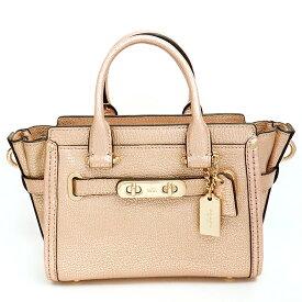 [New Arrivals] [Used] [Unused / New Old Goods] Coach Swagger 20 Metallic 2WAY Shoulder Bag 35990 [Handbag]