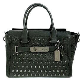 [New Arrival] [Used] [Good Condition] Coach Swagger 27 Ombre Rivet 2WAY Shoulder Bag 57697 [Handbag]