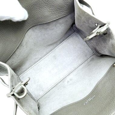 【中古】【美品】イヴサンローランナノ2WAYショルダーバッグ斜め掛けシルバー金具サック・ド・ジュール466283【ハンドバッグ】