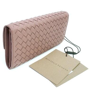 [Used] [Unused / New] Bottega Veneta Flap Bi-Fold Continental Wallet Intrecciato 150509 [Long Purse]