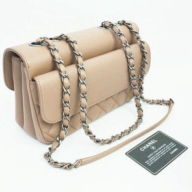 [Used] [Unused / new old goods] Matrice line W chain flap small bag antique metal fittings Coco mark A98693 [shoulder bag]