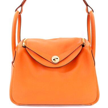 [Pre-owned] [Almost new] Hermes 302WAY shoulder bag shoulder gold fittings Lindy [Handbag]
