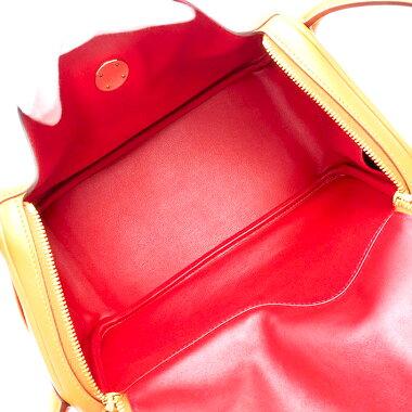 【中古】【ほぼ新品】エルメス302WAYショルダーバッグ肩掛けゴールド金具リンディ【ハンドバッグ】