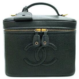 [GOODA] [Used] [Good Condition] Chanel Horizontal Vanity Cosmetic Pouch 2WAY Shoulder Bag Handbag Coco Mark [Makeup Pouch]