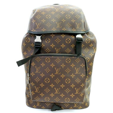[Used] [Beauty] Louis Vuitton Zack Backpack Monogram Macassar M43422 [Backpack Backpack]