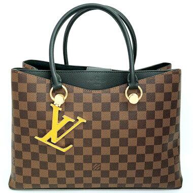 [Used] [Unused / New] Louis Vuitton LV Riverside Damier N40050 [Tote Bag]