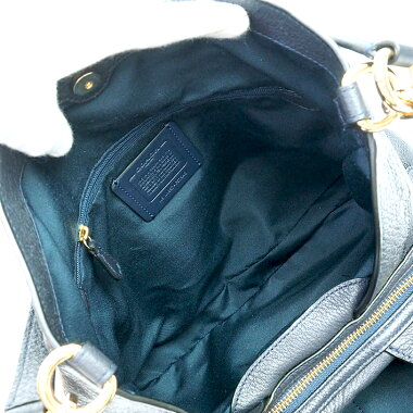 [Used] [Almost new] Coach Lexie Gold Chain Shoulder Bag F57545 [Shoulder Bag]