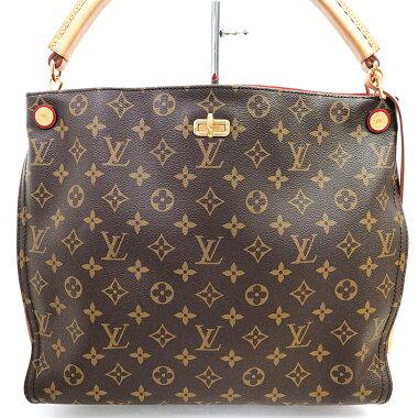 [Used] [Beauty] Louis Vuitton Gaia Monogram M41620 [Shoulder bag]