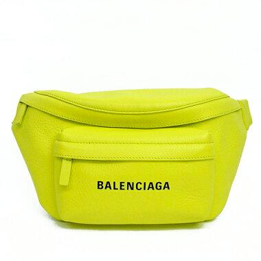 【中古】【未使用品・新古品】バレンシアガベルトバッグロゴ入りエブリデイ5523753500【ボディバッグ・ウエストポーチ】