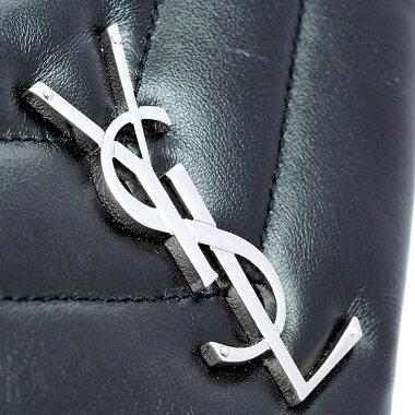 [Pre-owned] [Almost new] Yves Saint Laurent chain top handle 2WAY shoulder bag silver hardware materasse 529735 [handbag]