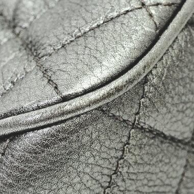 [Pre] [Beautiful] Chanel Matrusse chain shoulder shoulder antique silver metal fittings Coco mark A93999 [shoulder bag]