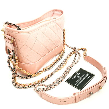 [Used] [Unused / New] Chanel Gabriel Dusmall Hobo Silver Hardware Gold Hardware Coco Mark A91810 [Shoulder Bag]