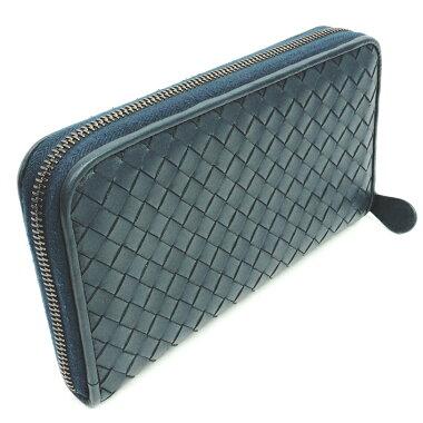 [New stock] [Pre-owned] [Good Condition] Bottega Veneta Round Zipper Long Wallet