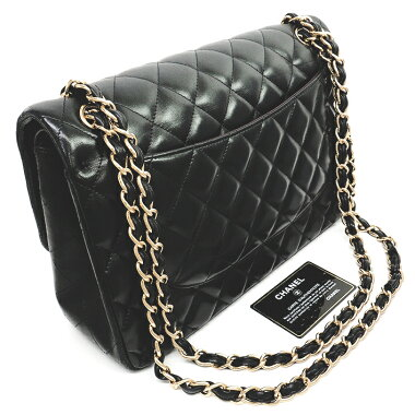 [New Products] [Used] [Good Condition] Chanel 30 Deca-Trasse Coco Mark W Chain W Flap Gold Hardware Matrasse A58600 [Shoulder Bag]